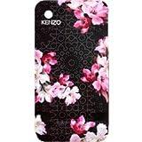 Bigben Coque Kenzo Nadir noire fleurs rose pour iPhone 3G 3GS