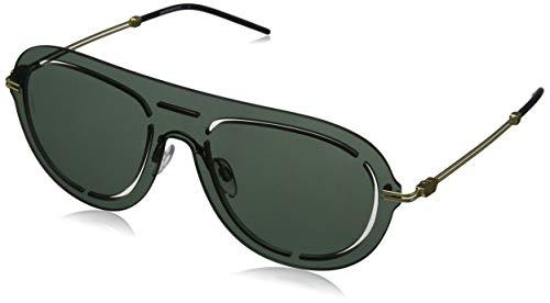 Emporio Armani Herren 0EA2057 Sonnenbrille, Grün (Light Green Mirror Petroleo), 45