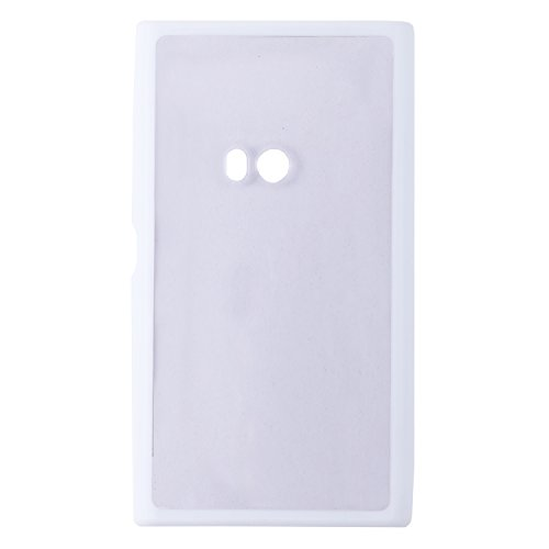 iCandy Ultra Slim Bumper Snap-on TPU Back Cover for Nokia Lumia 920 - White  available at amazon for Rs.109