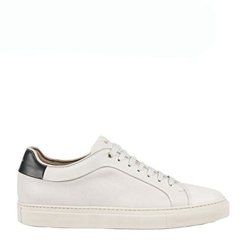 PAUL SMITH sneakers uomo in pelle bianca (41eur - 7uk)