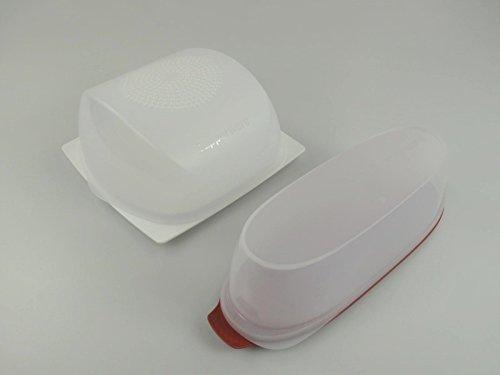 TUPPERWARE KäseMax Junior weiß transparent A205 + Wurstbox gebraucht kaufen  Wird an jeden Ort in Deutschland