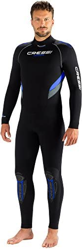 Cressi Castoro Man Monopiece Modular Diving Wetsuit 5mm