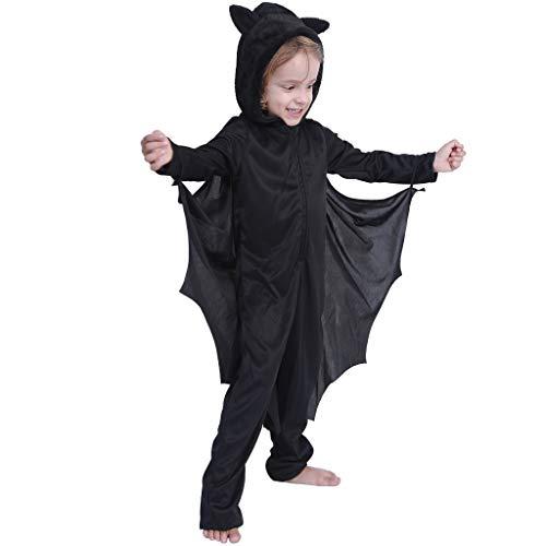 EraSpooky Fledermaus Halloween-Kostüm Männer Frauen Kinder (Für Frauen Batgirl Kostüme)