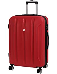 IT Luggage Proteus 8 Wheel Hard Shell Single Expander Suitcase with TSA Lock Maleta, 71