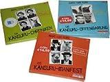 Marc-Uwe Kling 3 x als Hörbuch 12 CDs im Set (1. Die Känguru-Chroniken + 2. Das Känguru-Manifest + 3. Die Känguru-Offenbarung)
