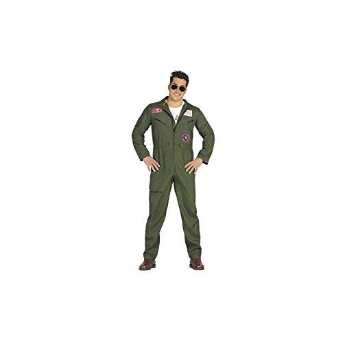 Imagen de disfraz piloto para hombre talla l = 52 54