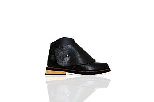 Base VII + Zubehör III - The Shoemaker Der Schuster Handgefertigte Hand Genäht Leder Rindsleder Stiefel Männer Frauen Unisex Einzigartige Schwarz Einzigartige