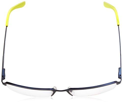 Carrera Montures de lunettes Ca6631 Pour Homme Matte Black Bleu foncé - Vert clair