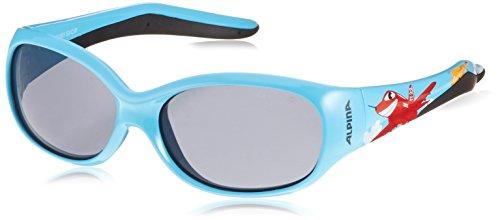 ALPINA Kinder Sonnenbrille Line Flexxy Outdoorsport-Brille, Cyan Plane, One Size