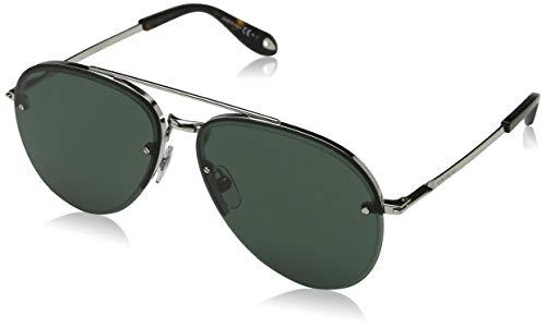 Givenchy Herren GV 7075/S QT 010 Sonnenbrille, Silber (Palladium/Green), 62