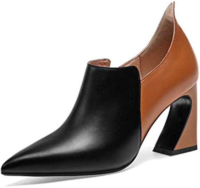 ZPEDY Chaussures pour Femmes, Pointues, Mode, Talons Hauts, Fermeture à Glissière, Mode, Pointues, TempéraHommes t, SauvageB07JLQHQSWParent 5255dc