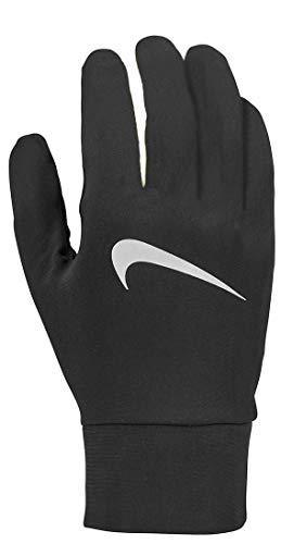 Nike Damen Womens Lightweight Tech Running Gloves 082 Handschuhe, Black/Silver, S