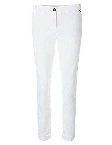 Marc Cain Additions Damen Hose GA 81.04 D20 Weiß (White 100)