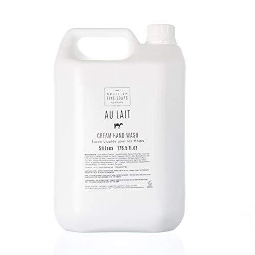 Scottish Fine Soaps Bulk 5L Commercial Au Lait Hand Wash Refill -