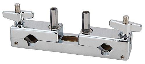 XDrum MC-1000 Multi Clamp (Multi-Klammer, Adapter, 2 Klemmen, aufklappbare Aufnehmer, Schnellspanner, für Stative von ca. 15-30 mm Durchmesser)