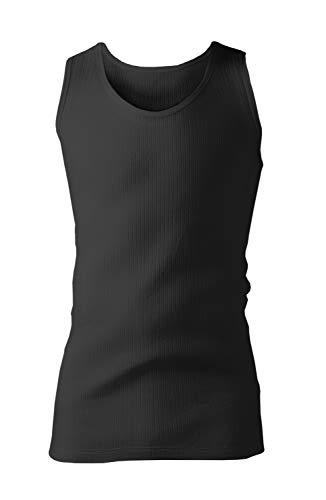 Heat holders - uomo invernale maglietta termica senza maniche in pile (medium (38-40