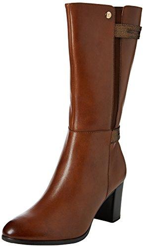 Caprice 25346 - Stivali Alti da Donna Marrone (Cognac Comb 315)