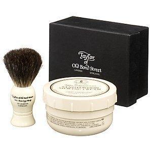 Lemon Lime Shaving Cream (Taylor of Old Bond Street Pure Badger Brush & Shaving Cream Box Set - Lemon & Lime)