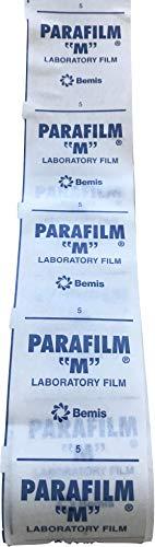 lm Verschlussband EXTRABREIT 500x5 cm zum Verschließen Abkleben Isolieren Verschiedenster Flaschen oder Behälter (5 Meter) ()