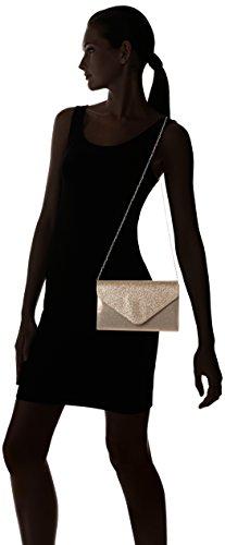 SwankySwans Damen Clutch Umschlag Kelly Glitzer Party Ball Clutch Gold (Champagne)