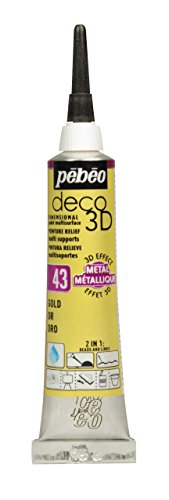 Pébéo Deco 3D metal 20ml oro