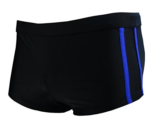 Jaonifer - Slip -  uomo Schwarz (black & blue)