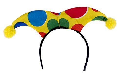 Boy Hula Kostüm (Karnevalsbud - Kostüm Haarreif- Clownkostüm- Harlekin, Erwachsenen Kopfbedeckung,)