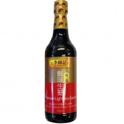 LEE KUM KEE Premium Helle Sojasauce 500 ml Light Soy Sauce Helle Soja Sauce