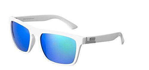 Sinner Erwachsene Thunder Wayfarer Polycarbonat Festival Sonnenbrille, Weiß, Herstellergröße: One Size