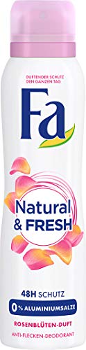 Fa Deodorant Spray (Fa Natural und Pure Deospray, 6er Pack (6 x 150 ml))