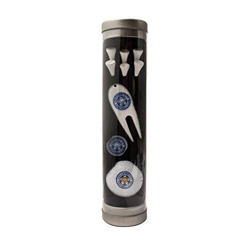 Leicester City Coffret cadeau de golf tube-Blanc