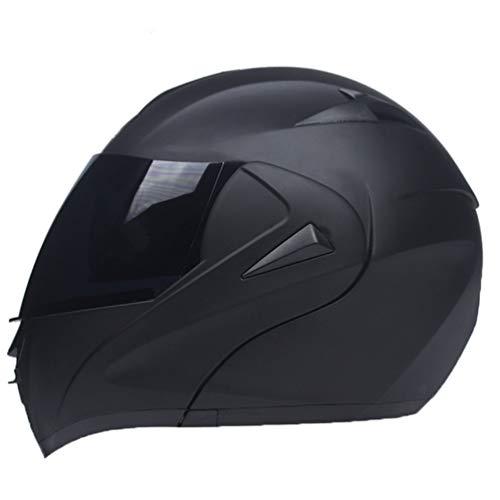 CASCO INTEGRALE BIANCO MATT Casco Casco Moto Quad Protezione Viso Casco Pieghevole Protezione