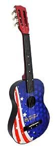 Schoenhut American Flag Acoustic Guitar
