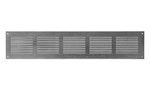 500 x 100 mm – Rejilla de ventilación – galvanizada – Rejilla...