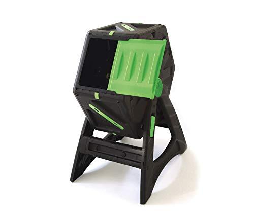 UPP Trommel-Komposter 70L | Roll-Kompostierer | Composter | interne Belüftung | Sicher vor Ungeziefer | Schnellkomposter