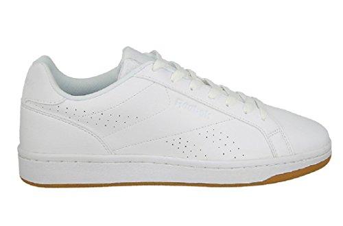 Reebok Royal Complete Cln, Sneaker Basses Homme Blanc Cassé (White/gum)