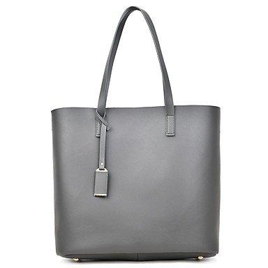 La donna pu formale Evento Casuale/Partito Set borsa beige grigio nero blu,grigio Gray