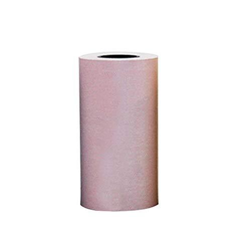 Womdee Rollo de Papel Adhesivo térmico imprimible