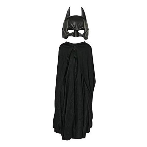 Batman Dark Knight Rises Superhero Kinder Kostümset 2-tlg Cape und Maske
