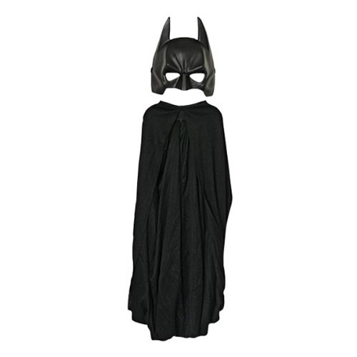 Elbenwald Batman Dark Knight Rises Superhero Kinder Kostümset 2-TLG Cape und Maske (Batman Dark Knight Rises Kostüm)