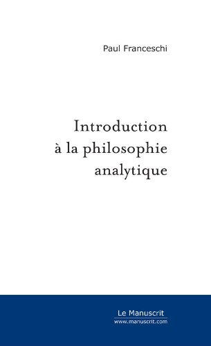 Introduction à la philosophie analytique