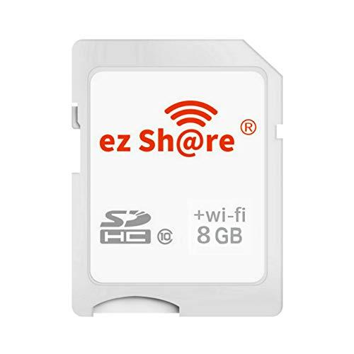 GuDoQi 8 GB Speicherkarte Drahtlose WiFi SD Karte SDHC Klasse 10 Flash SD Memory Card für Canon Nikon Casio Digitale SLR Kamera