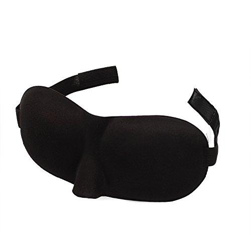 Konturierten weichen und angenehmen Schlaf ein Auge Maske verbessern Schlaf ES WIRD Ihre Augen Block Leichte aber nicht Touch schwarz