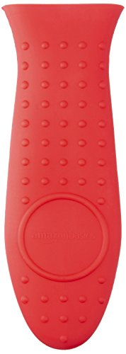 AmazonBasics Hot Handle Holder, Red