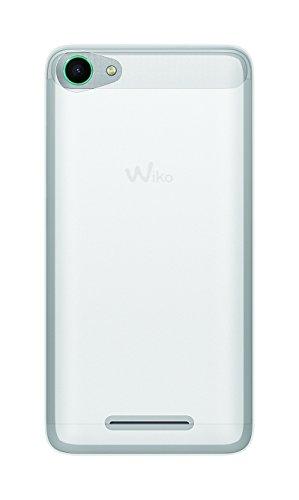 Phonix WKJERGPW Gel Protection Plus Schutzhülle mit Bildschirmschutzfolie fur Wiko Jerry weiß