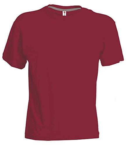 Sonnenuntergang-T-Shirts Bordeaux