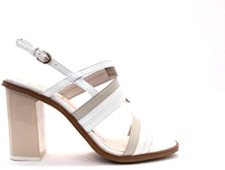 Sandalo Stairway Bianco Bianco Bianco Beige Sandali Cerimonia Donna Tacco Alto Particolare Elastico Elegante Scarpe Sposa Matrimonio... | Molti stili  | Maschio/Ragazze Scarpa  88c026