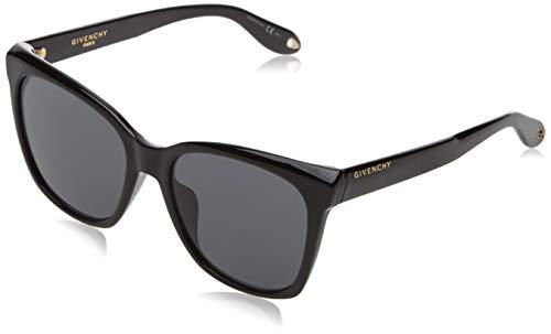 Givenchy Damen GV 7069/S IR 807 55 Sonnenbrille, Schwarz (Black Grey)