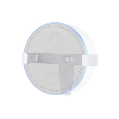 lanmu altavoz soporte para Amazon ECO altavoz, soporte Guardia de pantalla plana soporte de pared para Amazon Echo DOT2(aumentar la estabilidad de Amazon Echo DOT2y puede colgar en la pared)