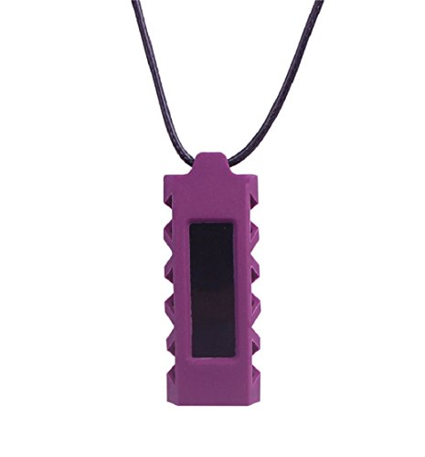 Preisvergleich Produktbild Tonsee Halskette mit Anhänger Halter Cover Silikonhülle für Fitbit Alta Tracker (lila)